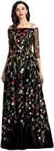 Best floral embroidered evening gown Reviews