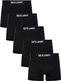 Tokyo Laundry Men's 5 Pack Boxer Shorts Set
