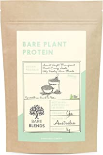 Bare Blends - Bare Plant Protein 1kg | Rice & Pea Vegan Protein Powder | Certified Organic | Unflavoured | Gluten Free