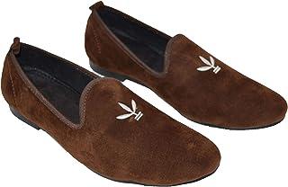 e57b0b333 Velour India Men's Velvet Designer Loafers and Mocassins Casual Slipon Shoes  for Men & Boys