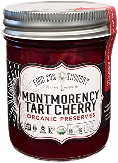 Food For Thought, Preserve Tart Cherry Whole Trade Guarantee Organic, 9.5 Ounce