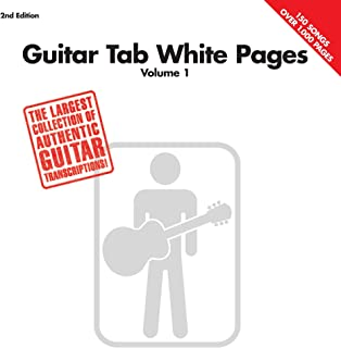 Guitar Tab White Pages - Volume 1 (English Edition)