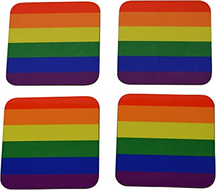 d207d47a88d HAIRUIYD Knee High Socks LGBT Gay Marriage Equality Women s Work Stance  Athletic Over Thigh High Stockings ·  14.00 14.00 · LGBT Rainbow Flag Drink  Coaster ...