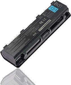 Yongerwy 56Wh PA5024U-1BRS Laptop Battery for Toshiba Satellite C840 C840D C845 C850 C850D C855 C855D C870 PA5023U-1BRS PA5025U-1BRS PA5026U-1BRS PA5027U-1BRS PA5109U-1BRS PABAS259 PABAS260 5200mAh