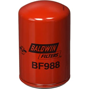 Baldwin BF988 Fuel Spin-on, Red