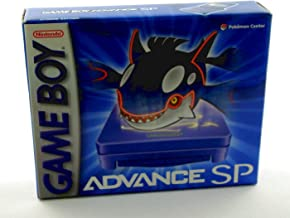 Gameboy Advance SP Pokemon Kyogre Edition