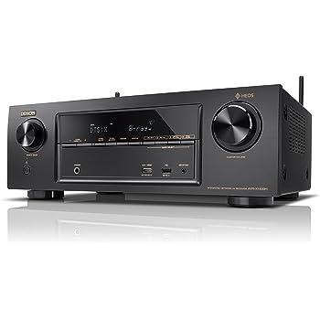 Denon AVレシーバー 7.2ch Dolby Atmos/DTS:X/HEOS機能搭載 エントリークラス ブラック AVR-X1400H-K