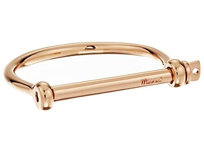 Miansai Screw Cuff Bracelet (Polished Rose Gold) Bracelet