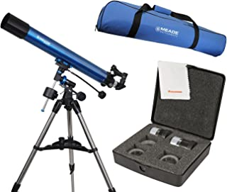 Meade Polaris 80mm German Equatorial Telescope w/Travel Bag & Eyepiece Accessory Kit