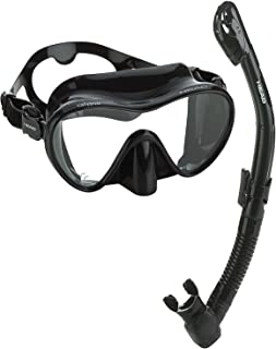Mares Calypso Dry Snorkel and Mask Combo