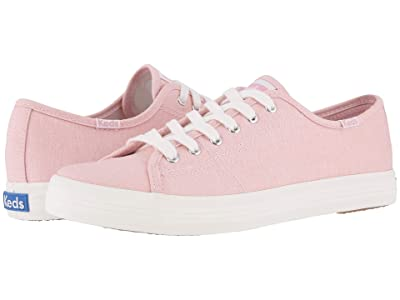 Keds Kickstart Mini Chambray (Pink) Women