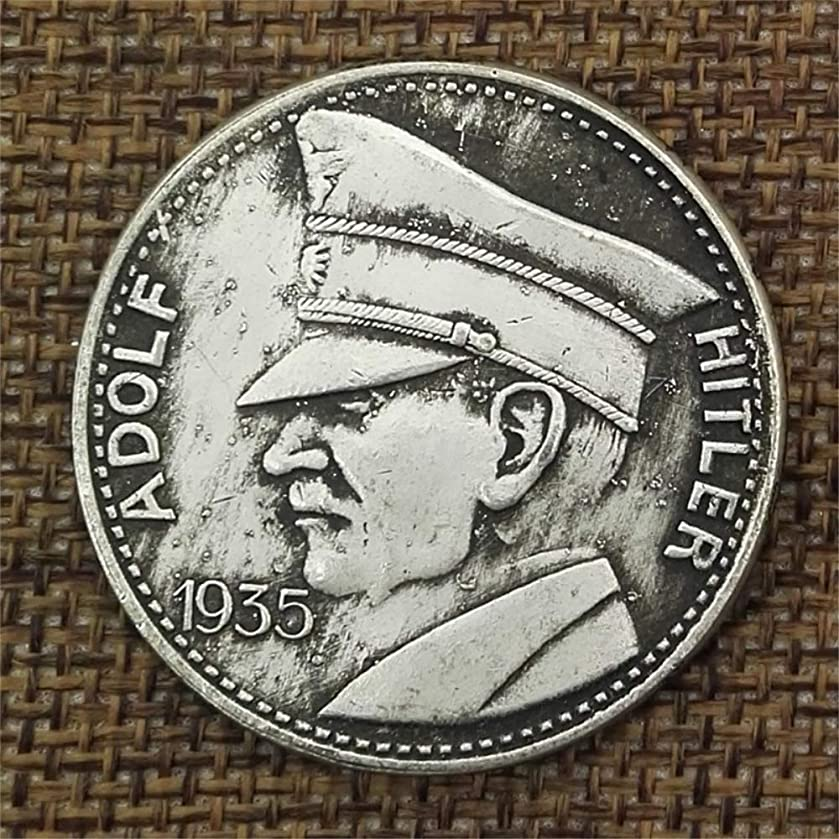 GreatSSCoin 1935 Germany Old Coins - Great Germany Coin - Germany Pre Morgan Old Uncirculated Commemorative Coin-Discover History of Coins Great Uncirculated Coin