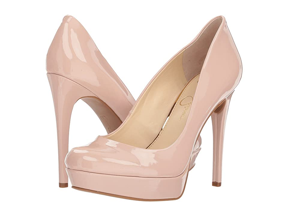 Jessica Simpson Baleenda (Nude Blush Patent) High Heels