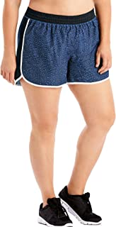 Just My Size Women's Plus Size Active Woven Run Short, Spot on Odyssey, 3X