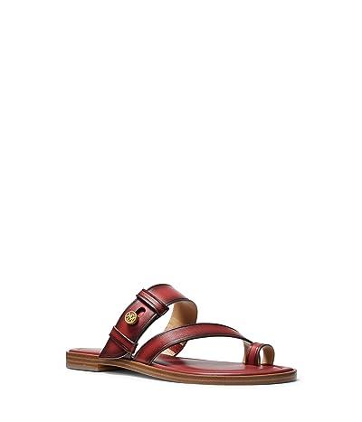 MICHAEL Michael Kors Brayden Flat Sandal (Terracotta) Women