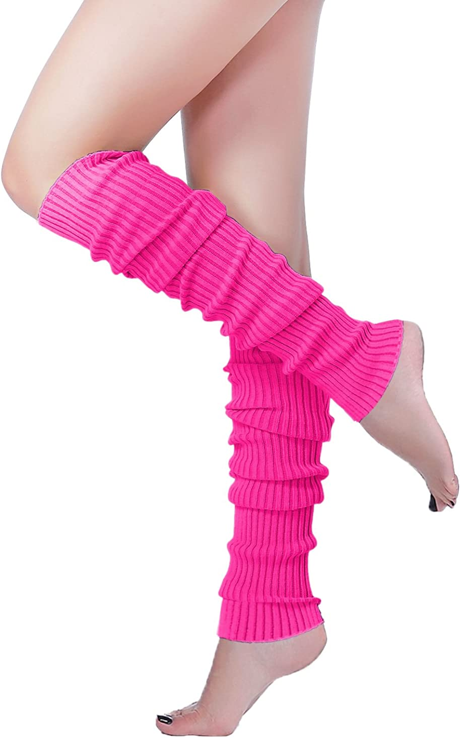 v28 Women Warm Leg Warmers 80s Selling Max 59% OFF Retro Party Costume Knit Ballet N