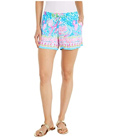 Lilly Pulitzer Katia Shorts (Multi Fished My Wish Engineered) Women