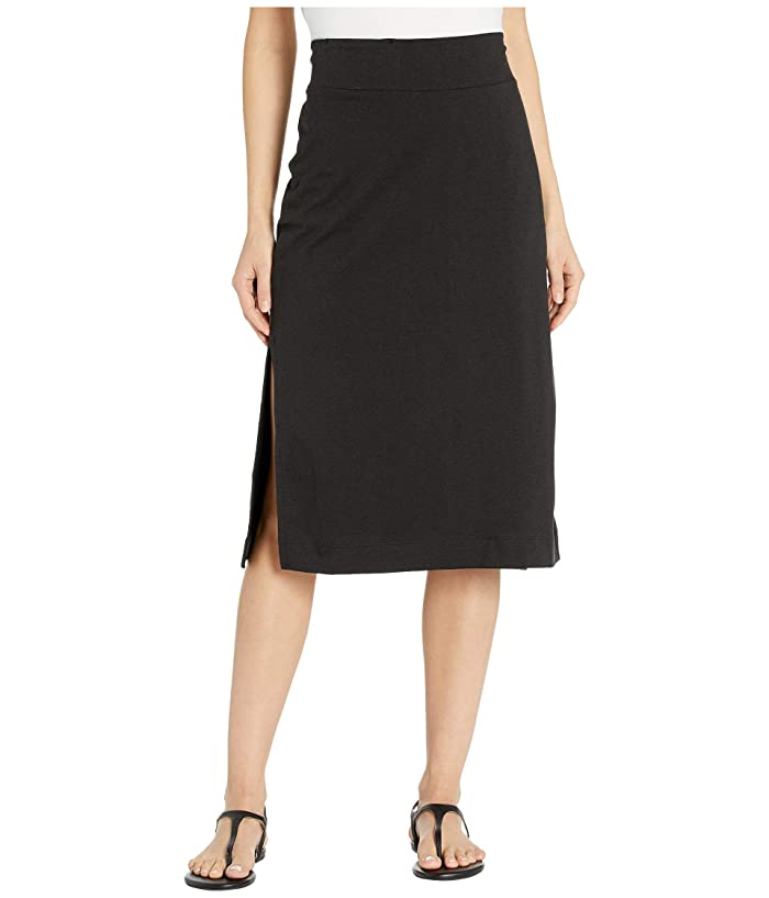 Toad&Co Samba Paseo Midi Skirt (Black) Women