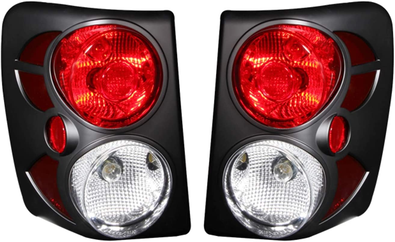 Anzo USA 311180 Red//Smoke LED Tail Light for Jeep Grand Cherokee