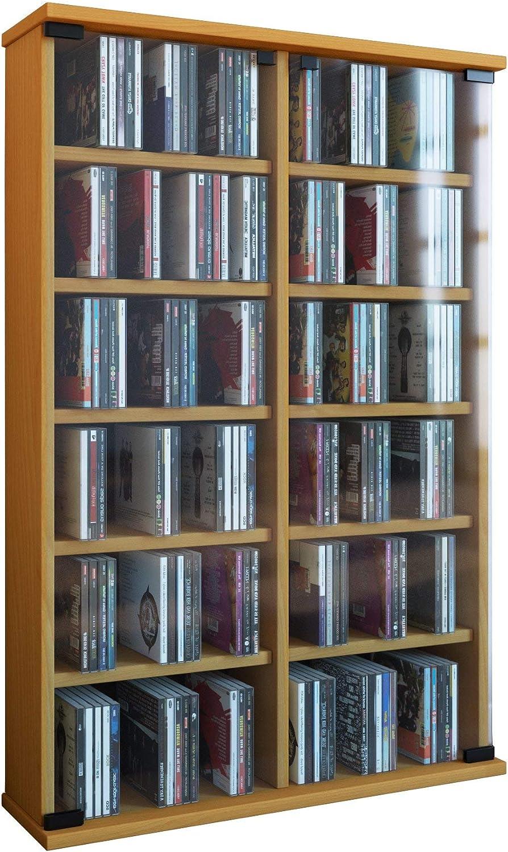 VCM Zuntisa Estante Mural para colección de CDs y DVDs ...
