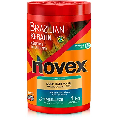 Novex Queratina Brasileña, Mascarilla Capilar 1 kg