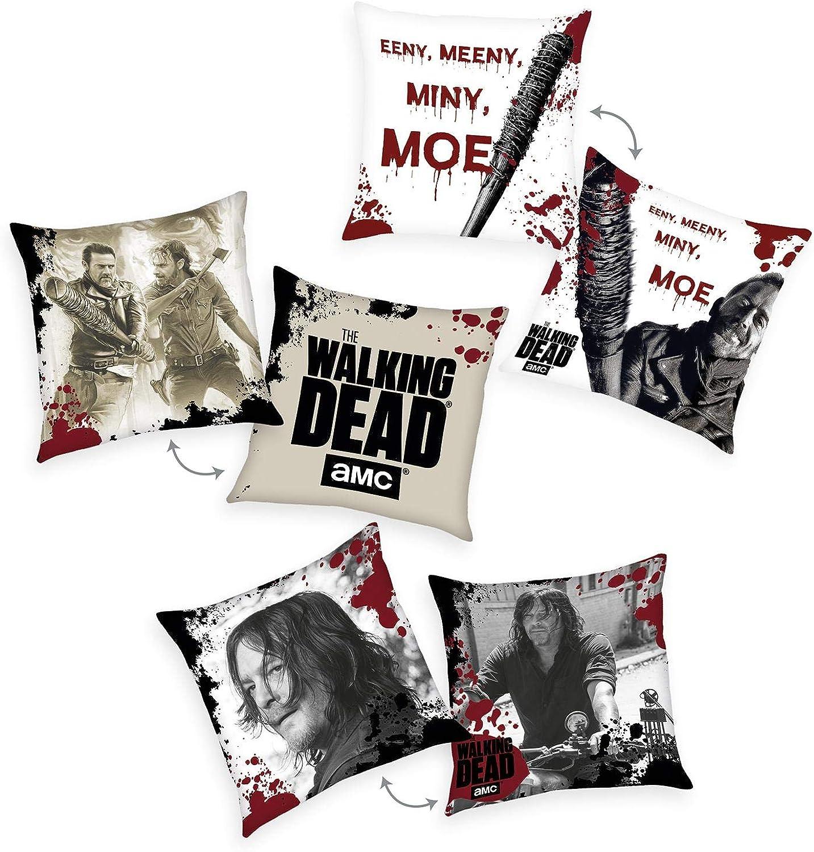 The Walking Dead Set of 3 Decor Pillows