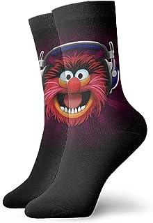 Yuanmeiju calcetines de punto Beaker The Muppets Unisex Men & Womans Comfortable Casual Socks Short, Boat Socks One Size