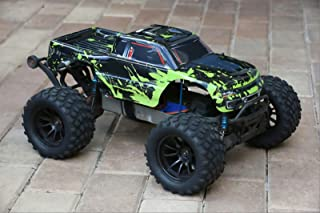 SummitLink Compatible Custom Body Muddy Green Over Black Replacement for 1/10 Scale RC Car or Truck (Truck not Included) ST-BG-03
