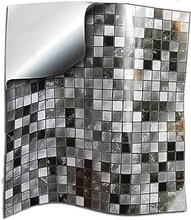 24x Gris negro blanco Lámina impresa 2d PEGATINAS lisas