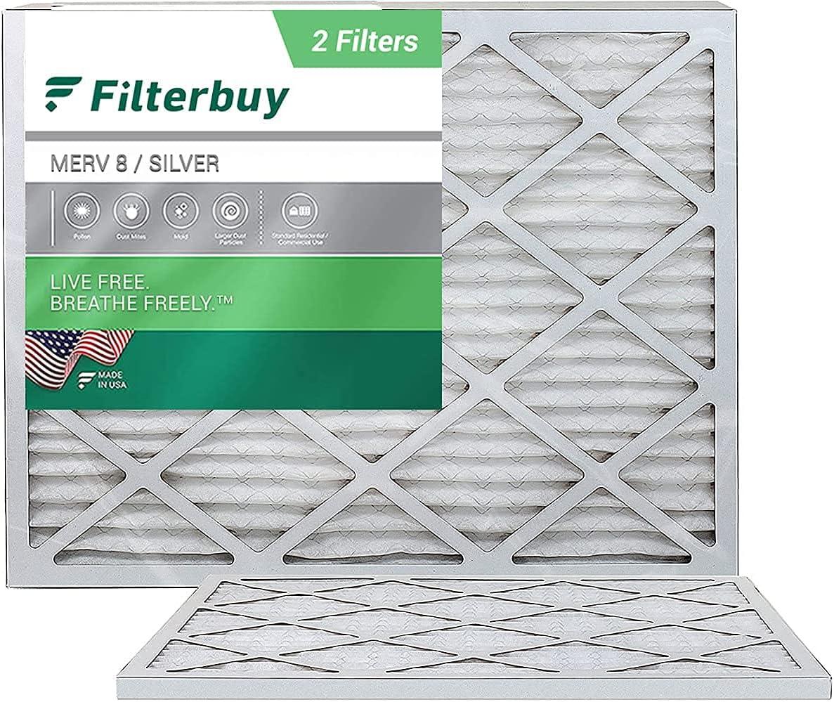 FilterBuy 1 year warranty 8x14x1 New arrival Air Filter MERV 8 HVAC Pleated Furnace AC Filt