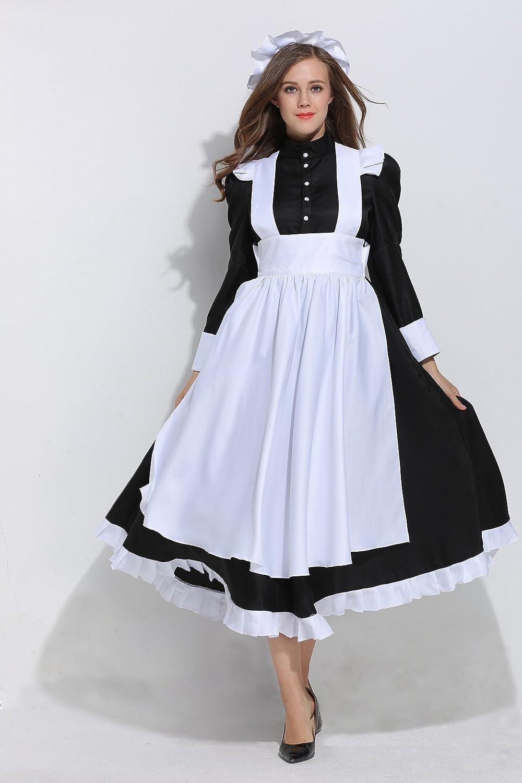dream cosplay Viktorianisch Maid Erwachsene Schick Kleid Kostüm ...