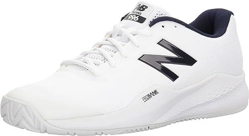New Balance Chaussures pour Hommes Hard Court MCH99, 40 40 EUR - Width D, blanc  magasin en ligne