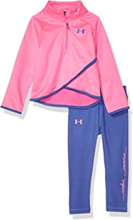 Under Armour Girls' Long Sleeve Tricot and Legging Set