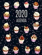 Cupcake Agenda 2020: Agenda di 12 Mesi con Calendario 2020 - Pianificatore Giornaliera