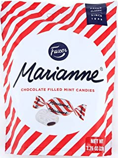 Fazer Marianne Chocolate Filled Mint Candies Imported From Finland 7.76oz(220g)