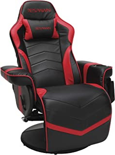 RESPAWN-900 Racing Style Gaming Recliner, Reclining Gaming Chair, in Red (RSP-900-RED)