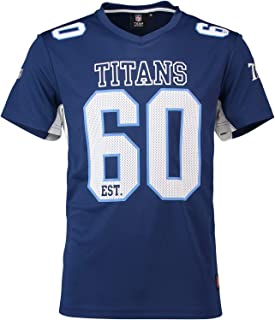 Majestic Athletic Tennessee Titans NFL Moro Poly Mesh Jersey Tee T-Shirt Trikot