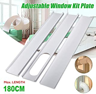 portable air conditioner horizontal sliding window kit