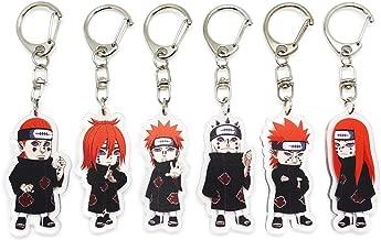 EBTY-Dreams Inc. - Set of 6 Naruto Anime Acrylic Keychain Six Paths Of Pain