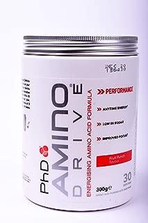 PhD Amino Drive Fruit Punch Powder, 300 gm