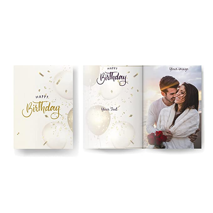 Visual Creation Customized Birthday Cards for Family