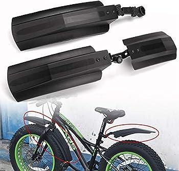Farway 26 inch Snow Bicycle Bike Front Rear Mudguard Cycling Bike Fender for Fat Tire Mountain Bike