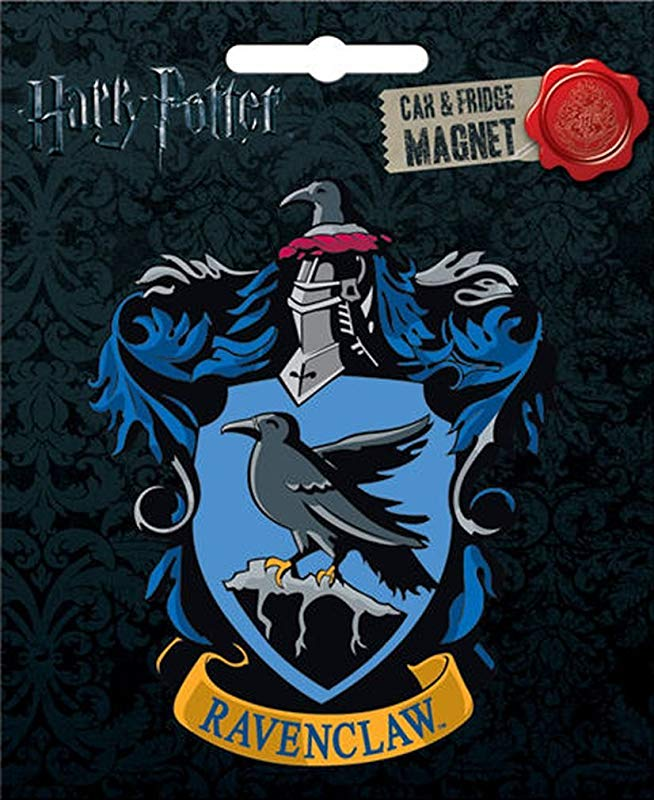 Ata Boy Harry Potter Die Cut Ravenclaw Crest Magnet For Cars Refrigerators And Lockers