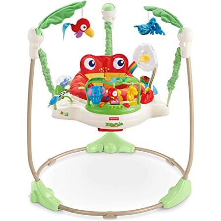 Fisher Price Rainforest Jumperoo – Large colorful baby Jumperoo
