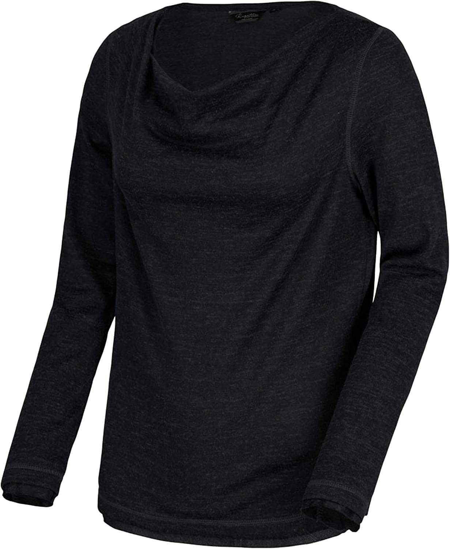 T-Shirt//Polo//Vest Donna Regatta Frayda Lightweight Wool Look Cowl Neck Style