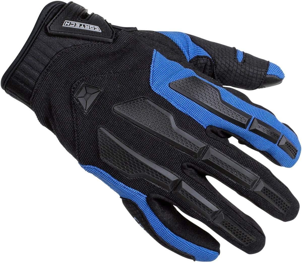 Cortech Mens Alternative dealer Speedway trend rank Aero-Tec Glove Blue 2Xl