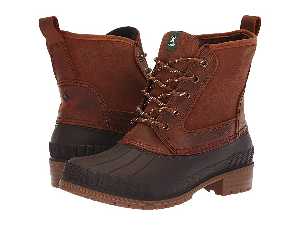 Kamik Sienna Mid (Dark Brown) Women