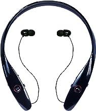 هدفون Tone Infinim HBS-900 ، هدست گردنبند بلوتوث با هدفون جمع شونده برای دویدن/اسپورت ضد آب عرق ضد سر و صدا لغو هدفون بی سیم برای LG iPhone Android ## [سیاه]