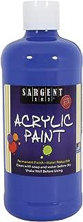 Sargent Art 24-2447 16-Ounce Acrylic Paint, Royal Blue