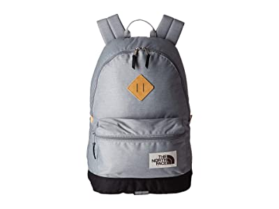The North Face Berkeley Backpack (Mid Grey Light Heather/TNF Black Heather) Backpack Bags